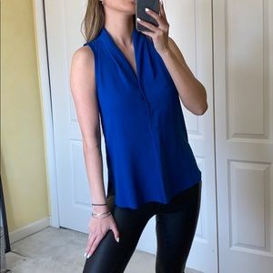 WILFRED Royal blue blouse